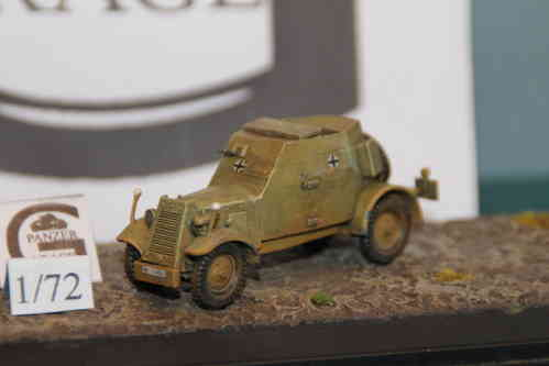 KFZ.13 .1945 CONVERSION FIRST & FIGHT