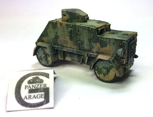 "ARMORED ""GOLIAT"" SCW 1936-39"