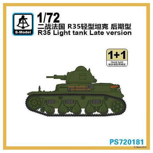 R 35 LIGHT TANK LATE(1Und)