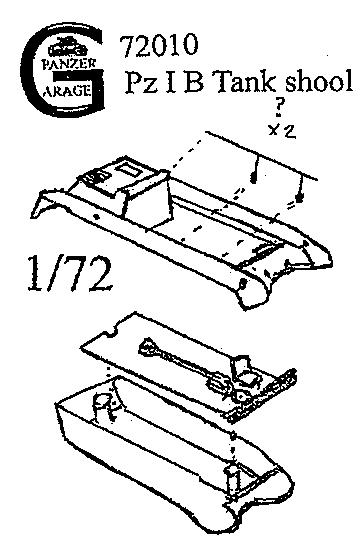 Pz I B Tank Schooltractor Kit Pz I A