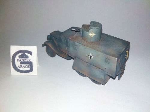 GERMAN ARMORED GAZ.RUSIA 1941-44