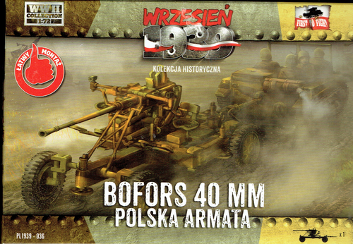 BOFORS 40MM antiaircraft gun