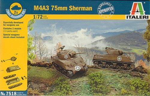 SHERMAN M 4 A3 75MM