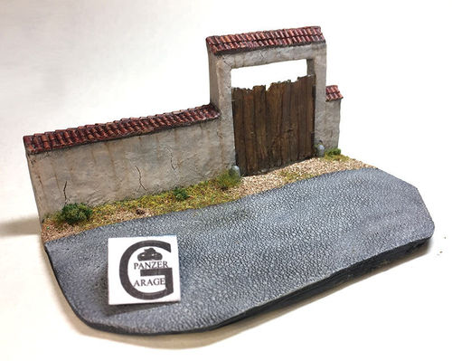 DIORAMA WALL AND DOOR SCW 1936-1939