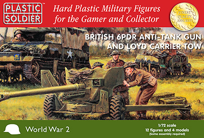 BRITISH LOYD CARRIER & 6PDR