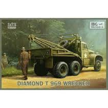 "DIAMOND T 968 TRUCK ""WRECKER"""