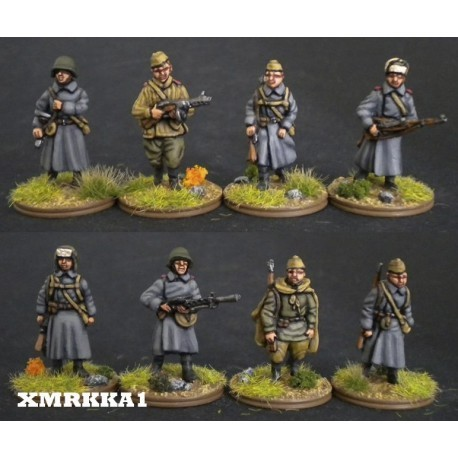 RUSSIAN INFANTRY WINTER. 1/72