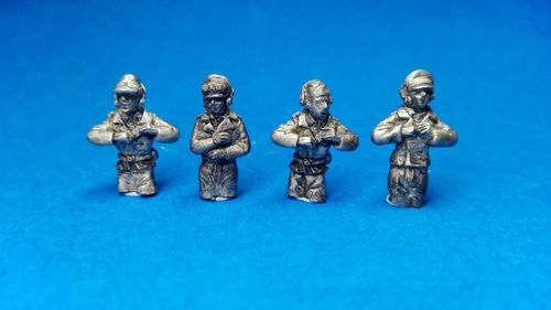 CREW OF GERMAN TANKS 1940-45. 1/72