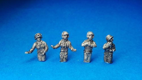 CREW OF NORTH AMERICAN TANKS 1941-45. 1/72