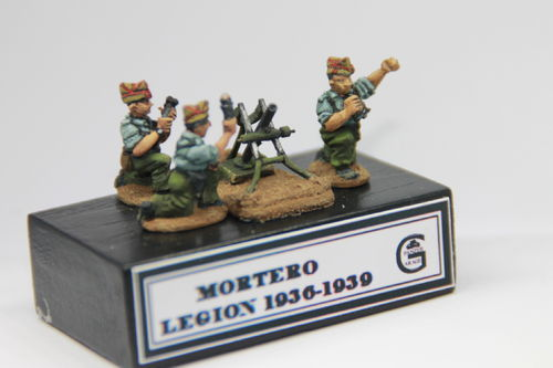 MORTAR OF THE SPANISH LEGION 1936-39