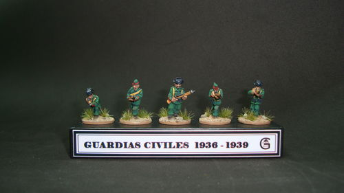 SPANISH CIVIL GUARD 1936-39.