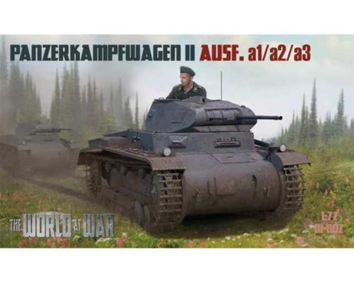 GERMAN PANZER II  A .