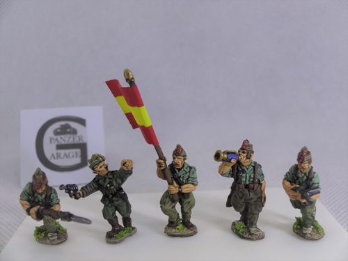 COMAND GROUP. SPANISH LEGION 1936-39.
