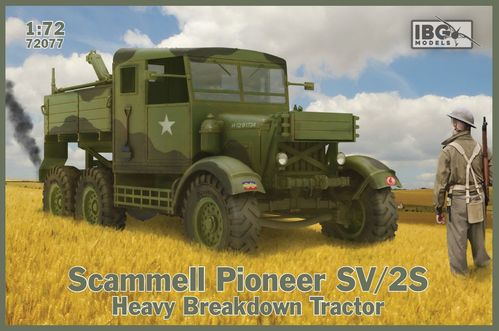 SCAMMELL PIONER SV/2S TRACTOR