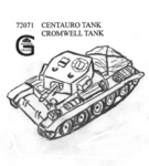 CENTAURO CROMWELL Mk IV  WITH STOWAGE